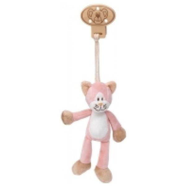 Teddykompaniet Babyleksak Diinglisar Clip Katt från Teddykompaniet