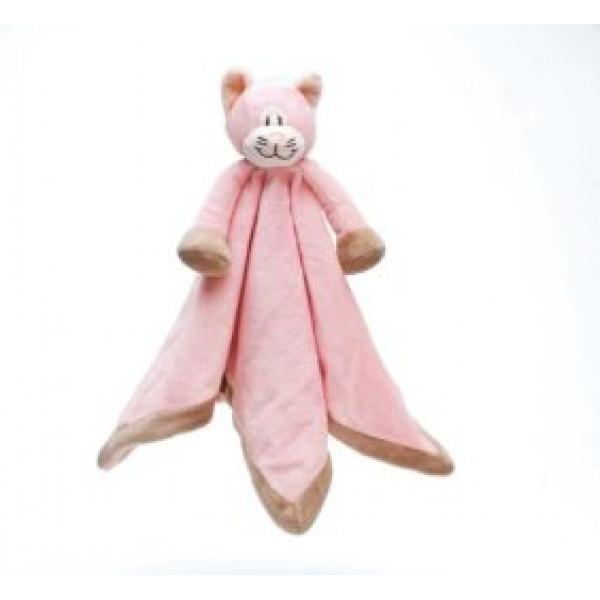 Teddykompaniet Babyleksak Diinglisar Snuttefilt Katt från Teddykompaniet