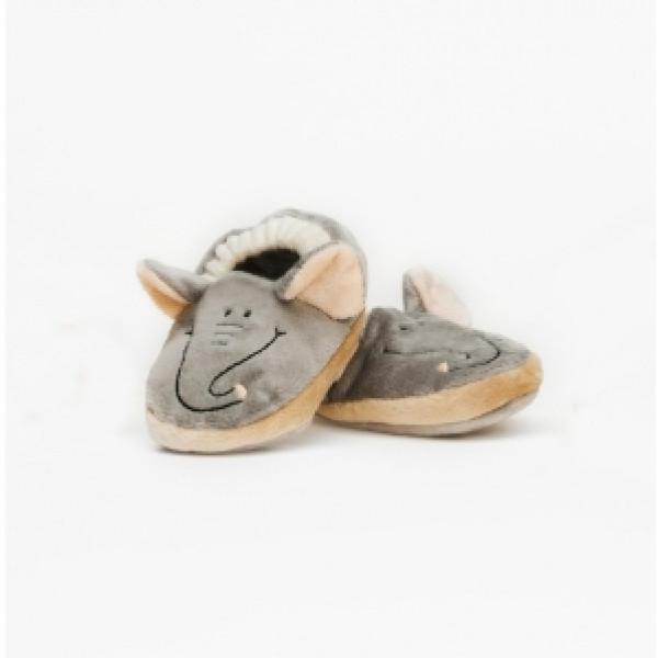 Teddykompaniet Babyleksak Diinglisar Wild Baby Tofflor Elefant från Teddykompaniet