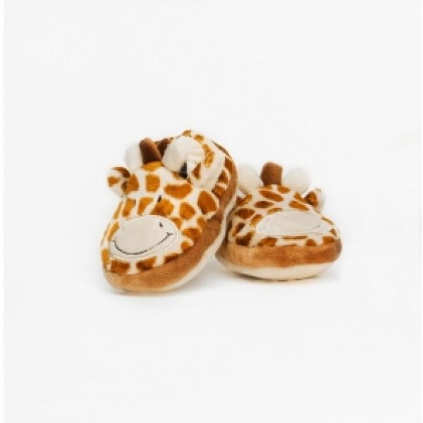 Teddykompaniet Babyleksak Diinglisar Wild Baby Tofflor Giraff från Teddykompaniet