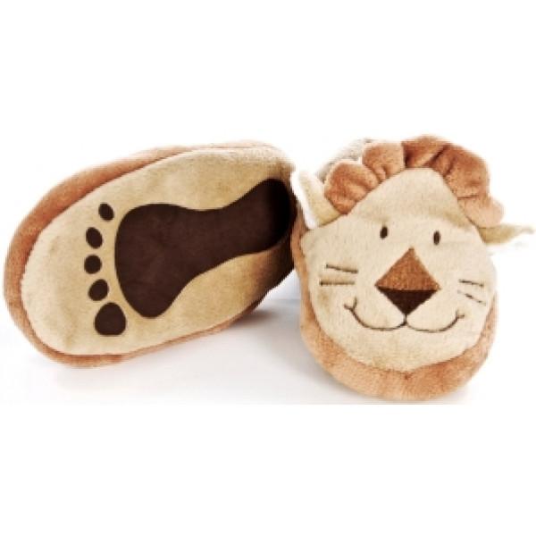 Teddykompaniet Babyleksak Diinglisar Wild Baby Tofflor Lejon från Teddykompaniet