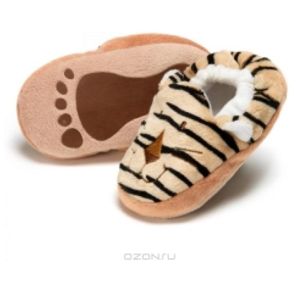 Teddykompaniet Babyleksak Diinglisar Wild Baby Tofflor Tiger från Teddykompaniet