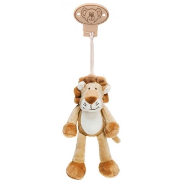 Teddykompaniet Babyleksak Diinglisar Wild Clip Lejon från Teddykompaniet