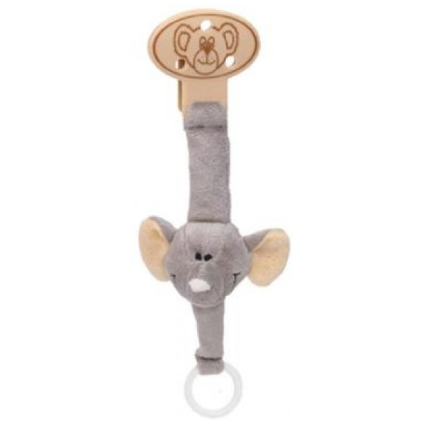 Teddykompaniet Babyleksak Diinglisar Wild Napphållare Elefant från Teddykompaniet