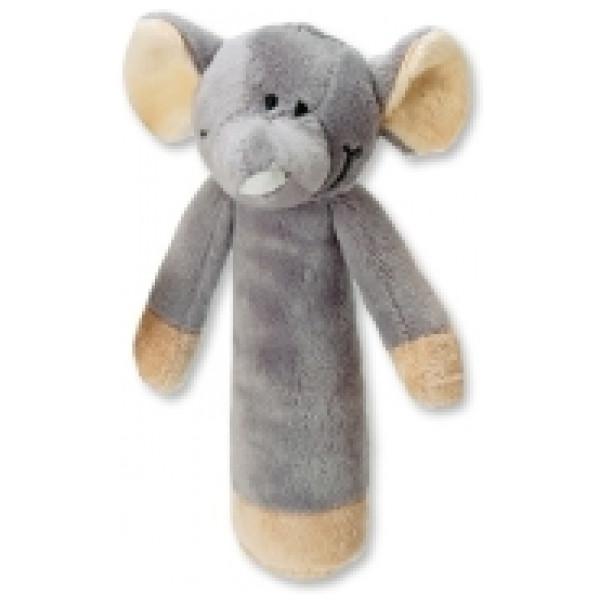 Teddykompaniet Babyleksak Diinglisar Wild Skallra Elefant från Teddykompaniet