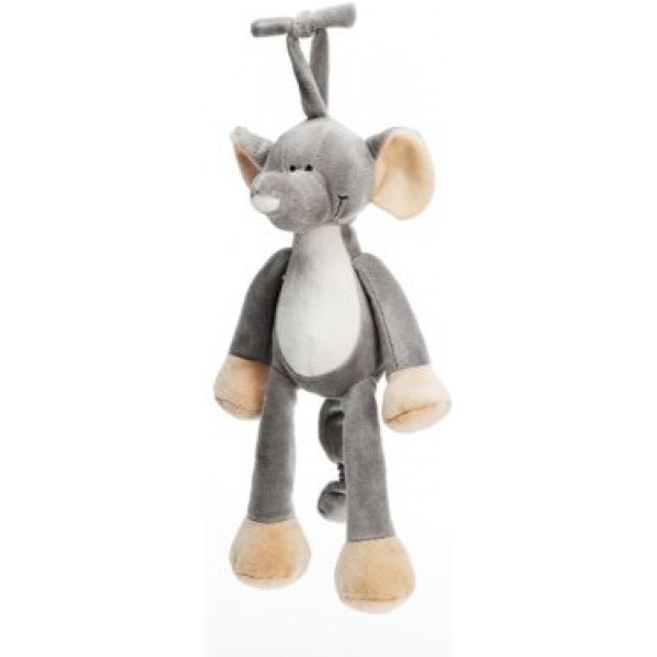 Teddykompaniet Babyleksak Diinglisar Wild Speldosa Elefant från Teddykompaniet