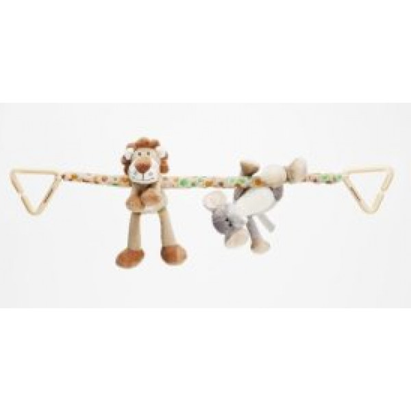Teddykompaniet Babyleksak Diinglisar Wild Vagnhänge Lejon & Elefant från Teddykompaniet