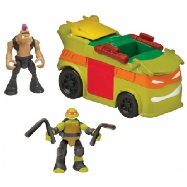 Teenage Mutant Ninja Turtles Actionfigur Tmnt Micro Mutants Party Van från Teenage mutant ninja turtles