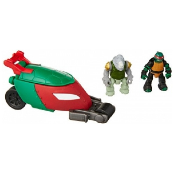 Teenage Mutant Ninja Turtles Actionfigur Tmnt Micro Mutants Stealth Bike från Teenage mutant ninja turtles