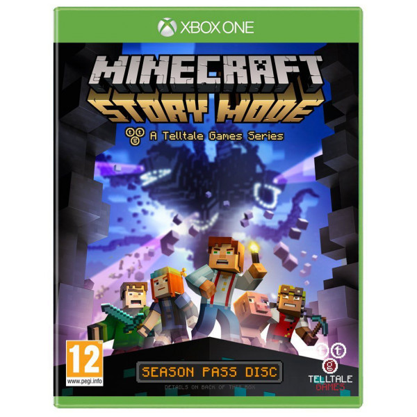 Telltale Games Tv-Spel Minecraft Story Mode från Telltale games