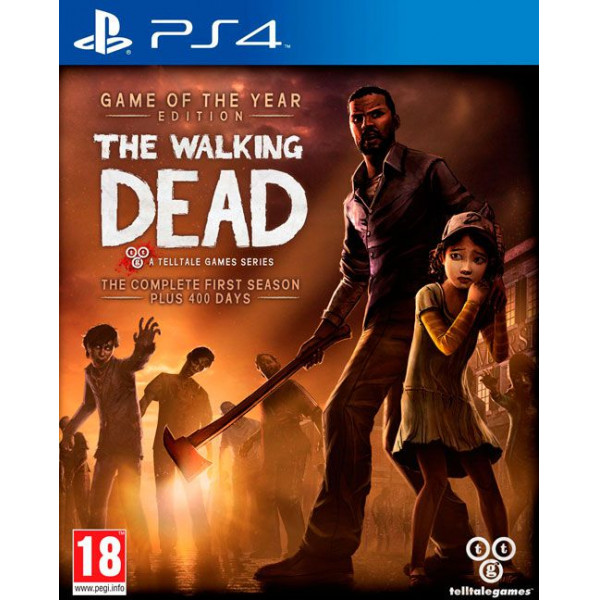 Telltale Games Tv-Spel The Walking Dead Season 1 - Game Of The Year från Telltale games