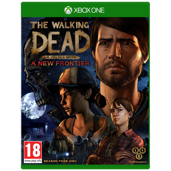Telltale Games Tv-Spel The Walking Dead - Telltale Series The New Frontier från Telltale games