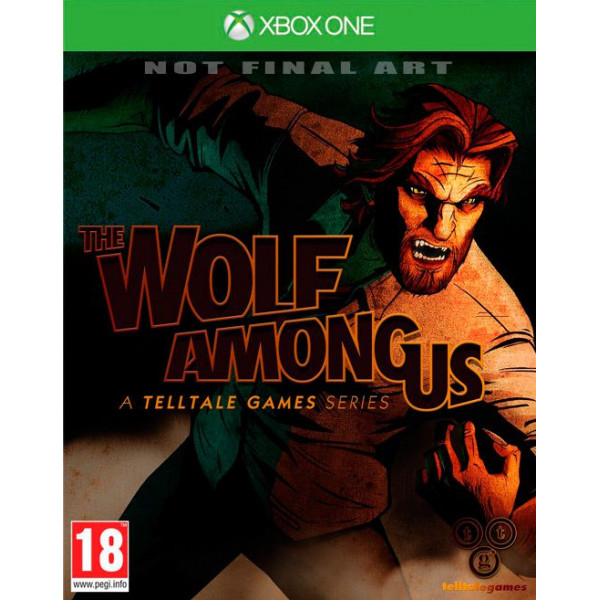 Telltale Games Tv-Spel The Wolf Among Us xbox One från Telltale games