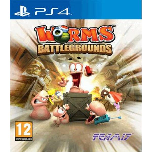 Telltale Games Tv-Spel Worms Battlegrounds från Telltale games