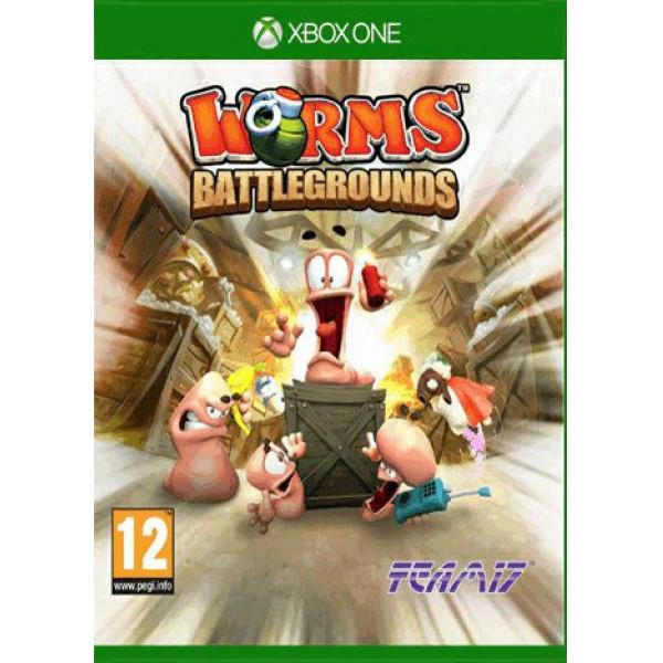 Telltale Games Tv-Spel Worms Battlegrounds xbox One från Telltale games