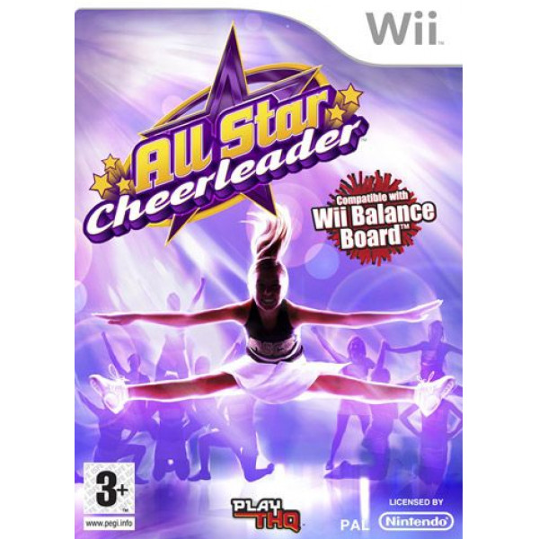 Thq Tv-Spel All Star Cheerleader For Balance Board från Thq