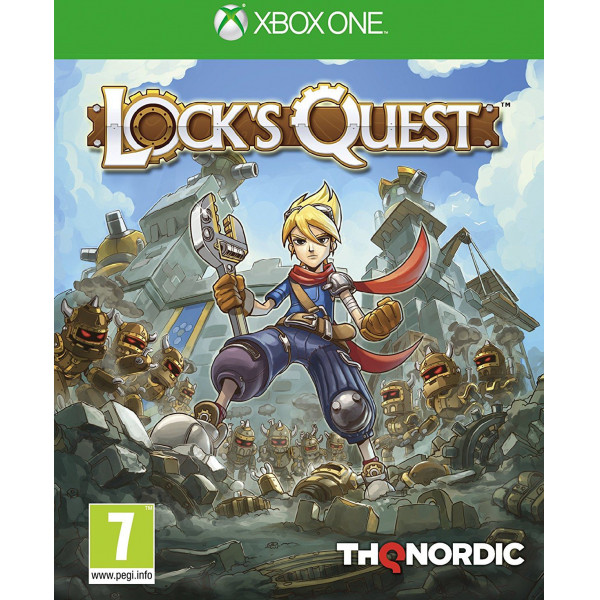 Thq Tv-Spel Lock's Quest från Thq
