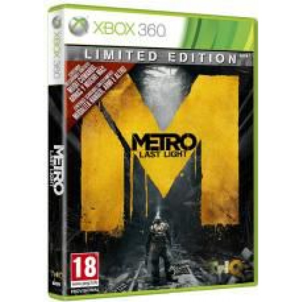 Thq Tv-Spel Metro Last Light - Limited Edition från Thq