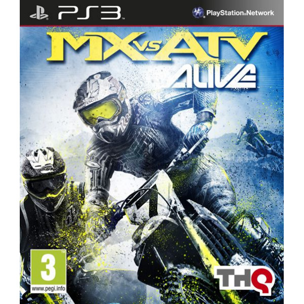 Thq Tv-Spel Mx Vs Atv Alive från Thq