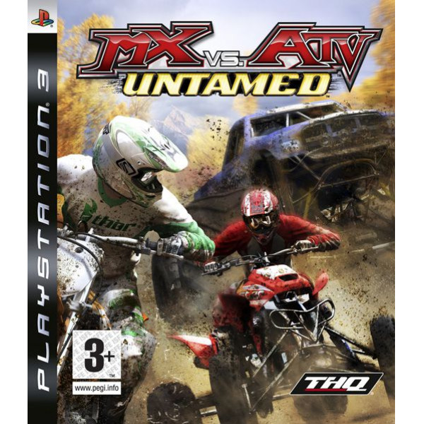 Thq Tv-Spel Mx Vs Atv Untamed från Thq