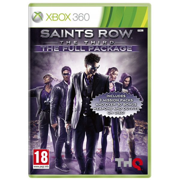 Thq Tv-Spel Saints Row The Third The Full Package från Thq
