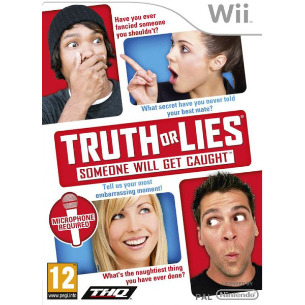Thq Tv-Spel Truth Or Lies från Thq