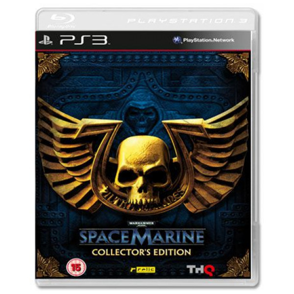 Thq Tv-Spel Warhammer 40000 Space Marine Collectors Edition från Thq