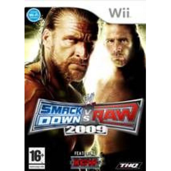 Thq Tv-Spel Wwe Smackdown Vs Raw 2009 från Thq