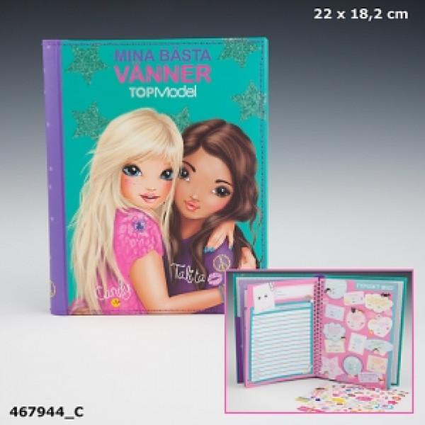 Top Model Barnböcker Topmodel Bästisbok från Top model