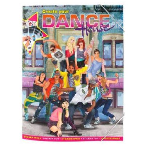 Top Model Create Your Dance House Pysselbok från Top model