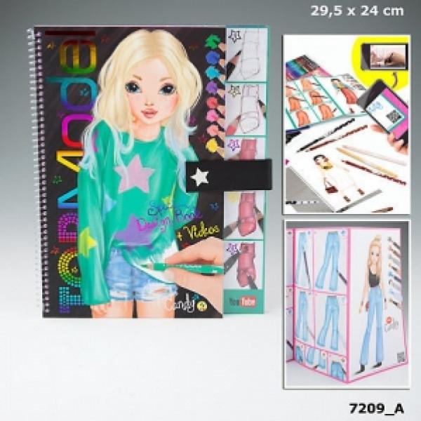 Top Model Topmodel Design Målarbok från Top model