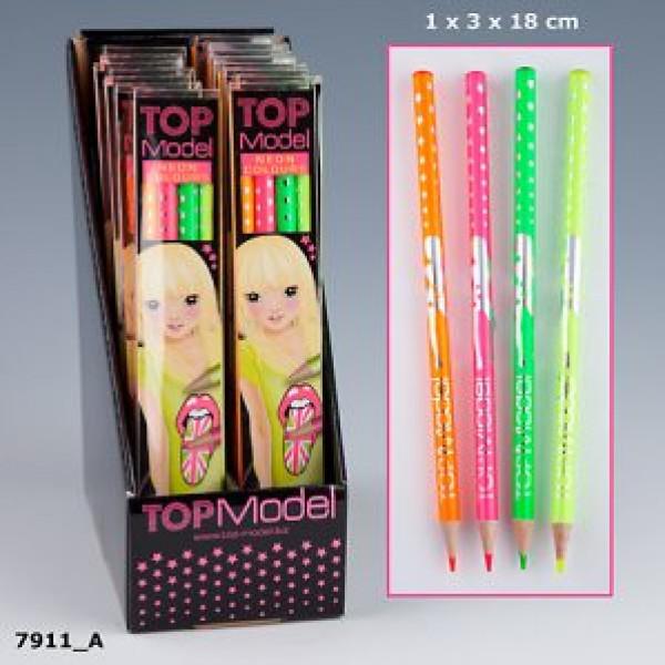Top Model Topmodel Färgpennor Neon från Top model