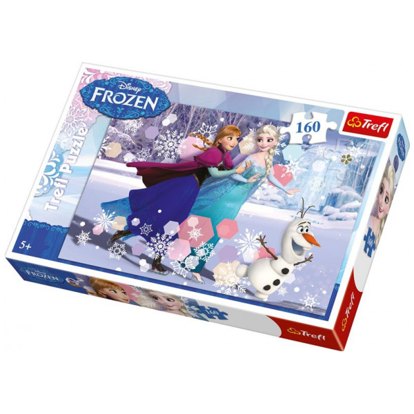 Trefl Pussel Disney Frozen - Ice Skating - 160 Pc 23-15317 från Trefl