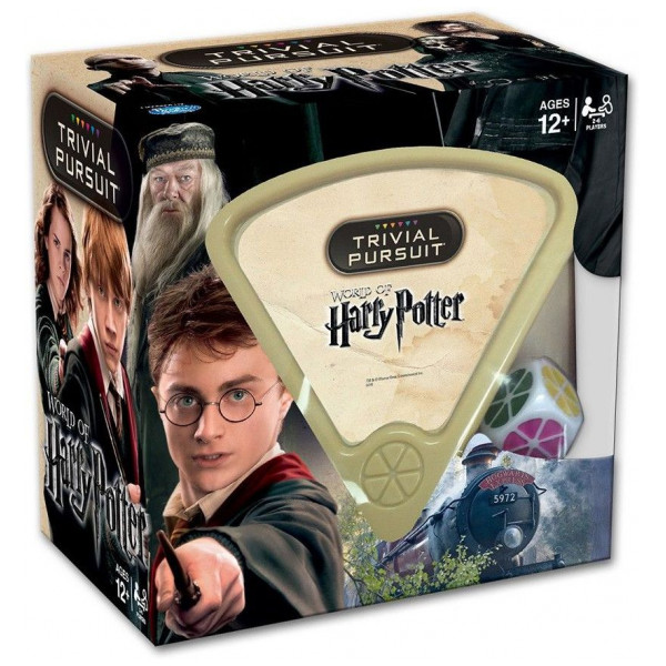 Trivial Persuit Sällskapsspel Trivial Pursuit Harry Potter från Trivial persuit