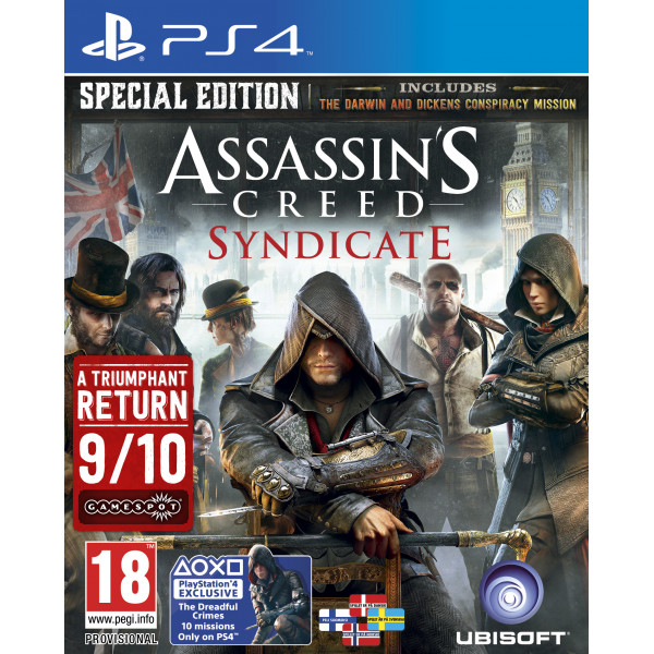 Ubi Soft Tv-Spel Assassin's Creed Syndicate - Special Edition Nordic från Ubi soft