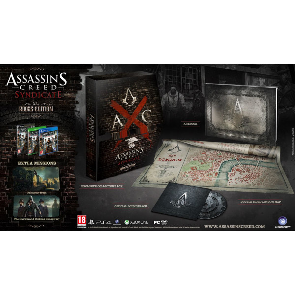 Ubi Soft Tv-Spel Assassin's Creed Syndicate - The Rooks Edition Nordic från Ubi soft