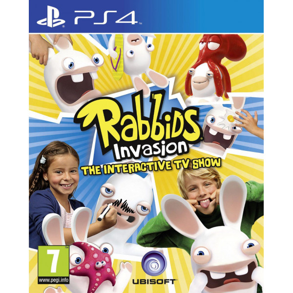Ubi Soft Tv-Spel Rabbids Invasion - The Interactive Tv Show Nordic från Ubi soft