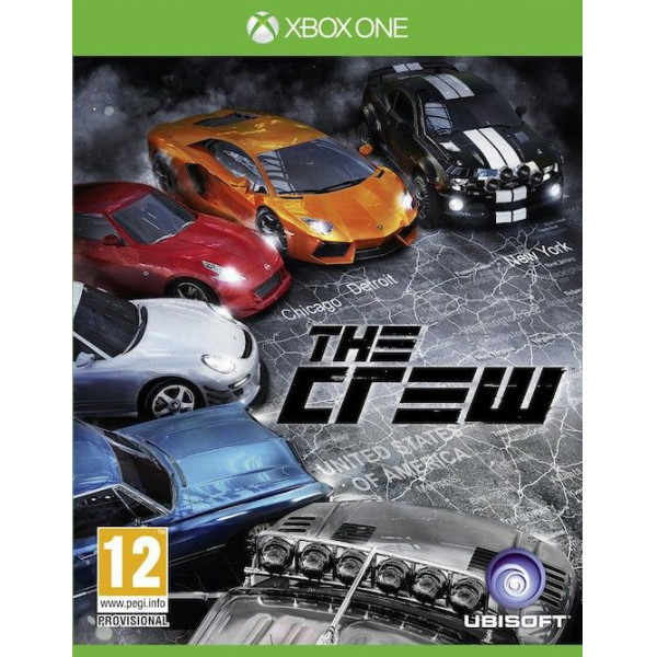 Ubi Soft Tv-Spel The Crew - Limited Edition Nordic från Ubi soft