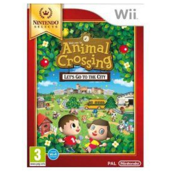 Unknown Tv-Spel Animal Crossing Lets Go To The City Selects från Unknown