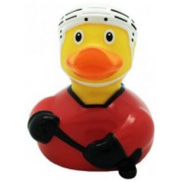 Vattenlek Badanka Ishockeyspelare Röd från Inget märke