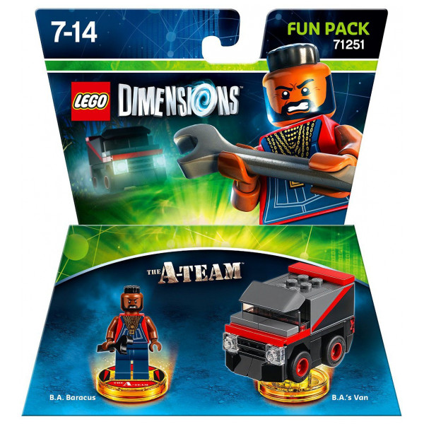 Warner Home Video Lego Dimensions Fun Pack - A-Team från Warner home video