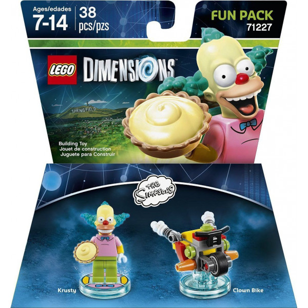 Warner Home Video Lego Dimensions Fun Pack - Krusty Simpsons 71227 från Warner home video