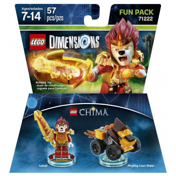 Warner Home Video Lego Dimensions Fun Pack - Laval Chima från Warner home video