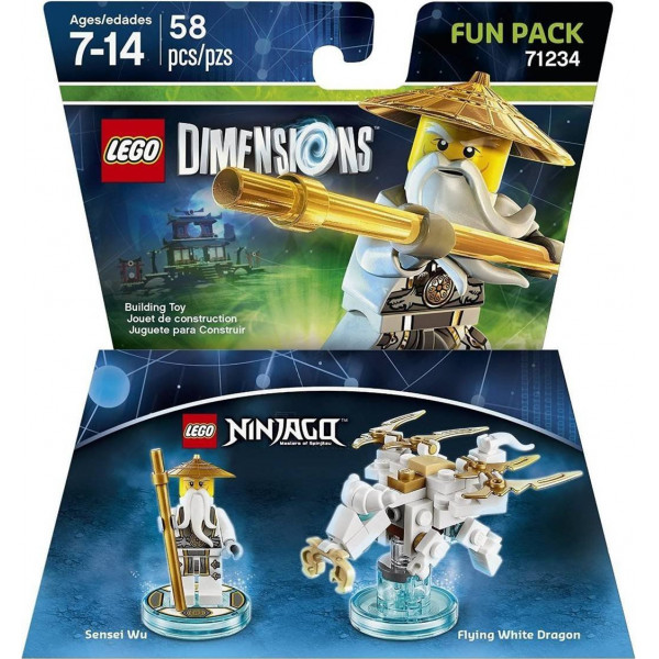 Warner Home Video Lego Dimensions Fun Pack - Sensei Wu Ninjago från Warner home video