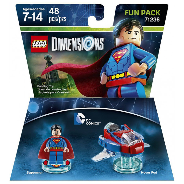Warner Home Video Lego Dimensions Fun Pack - Superman Dc Comics från Warner home video