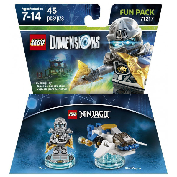 Warner Home Video Lego Dimensions Fun Pack - Zane Ninjago från Warner home video