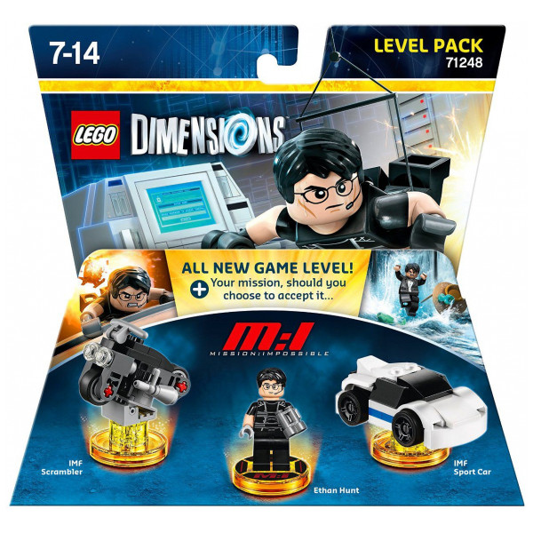 Warner Home Video Lego Dimensions Level Pack - Mission Impossible från Warner home video