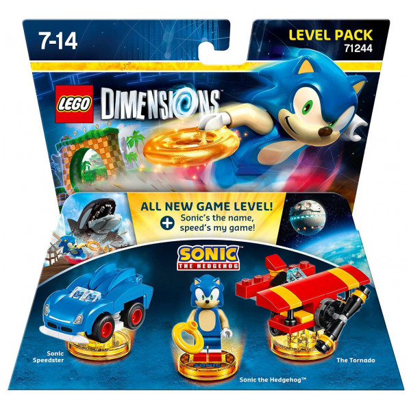 Warner Home Video Lego Dimensions Level Pack - Sonic The Hedgehog 71244 från Warner home video