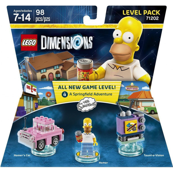 Warner Home Video Lego Dimensions Level Pack - The Simpsons från Warner home video