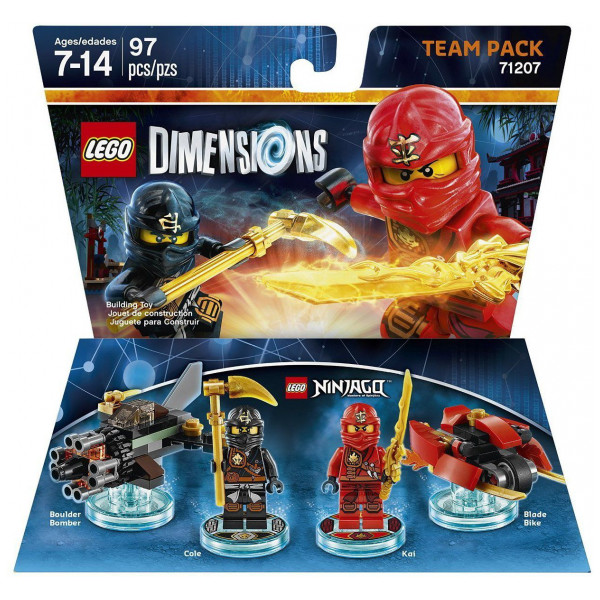 Warner Home Video Lego Dimensions Team Pack - Ninjago från Warner home video